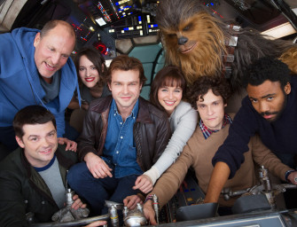 """But Where's The Trailer For Episode VIII?"": Cast Photo For Untitled Han Solo ""Star Wars"" Movie"